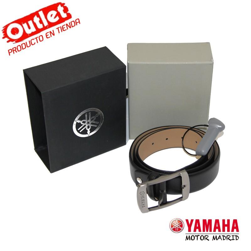 Cinturón Yamaha Cuero Negro