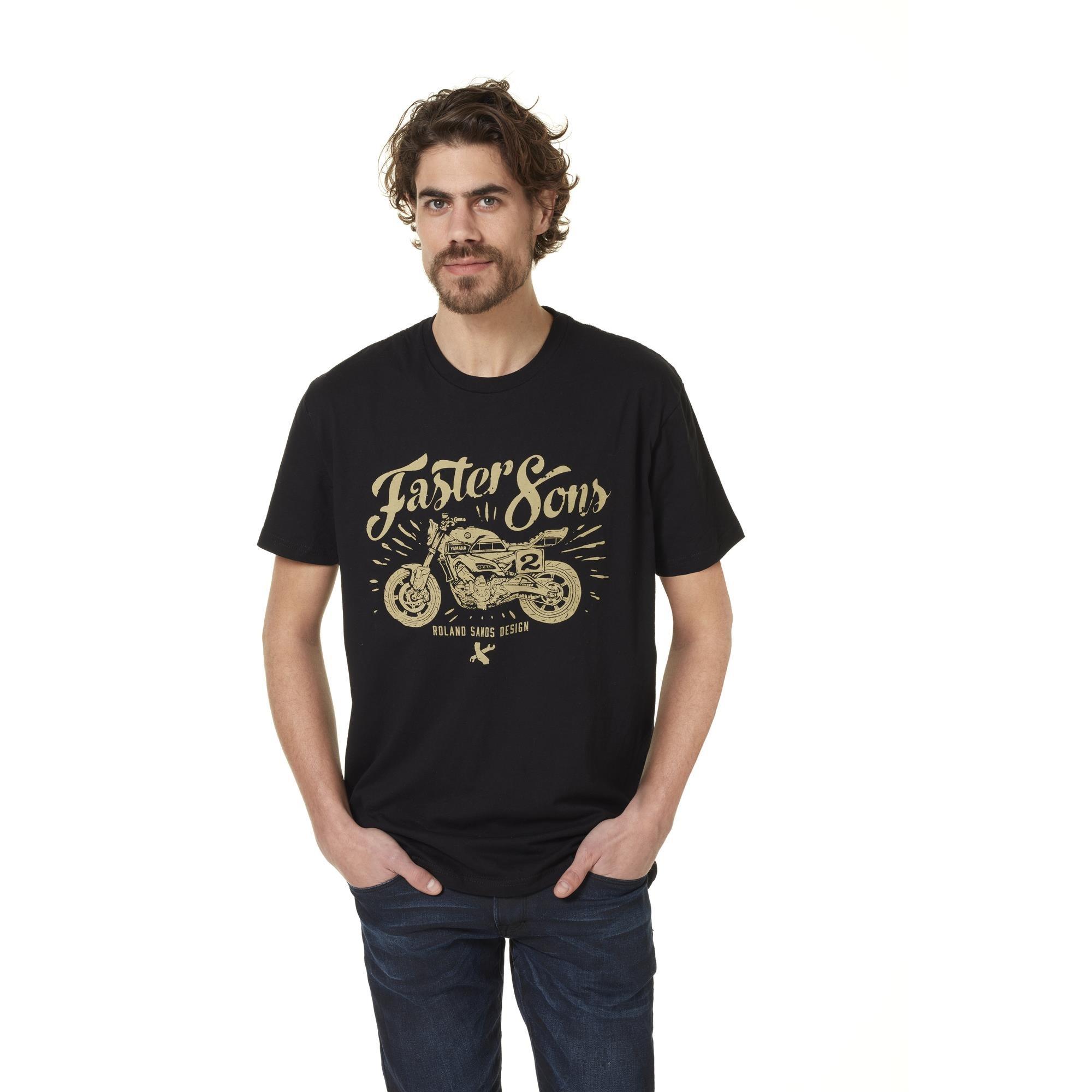 Camiseta Faster Sons  Roland Sands