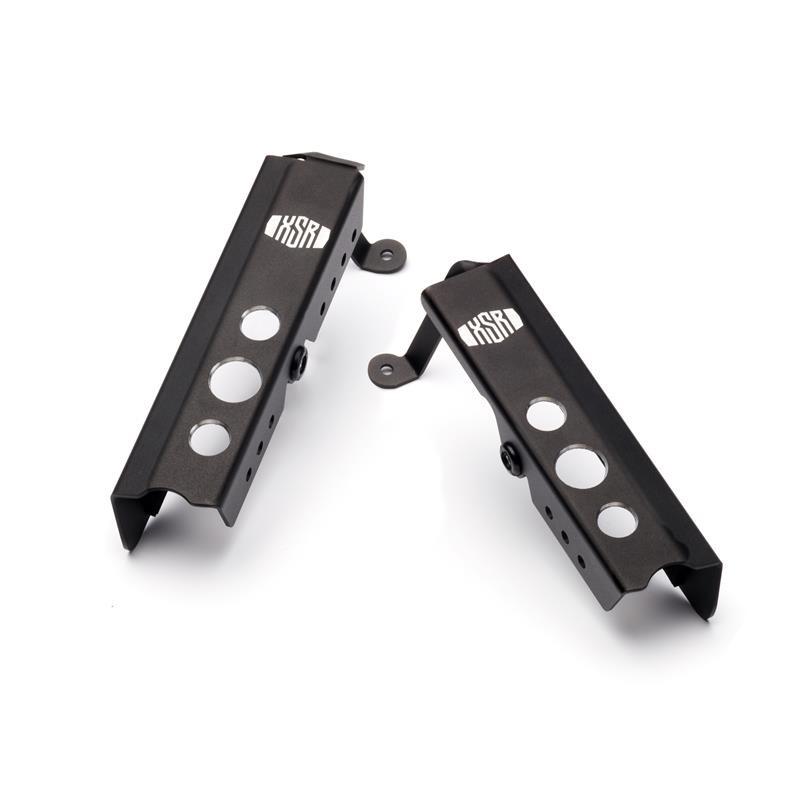 Tapas laterales de radiador - Black
