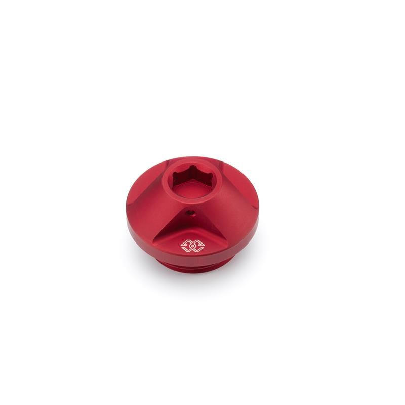Tapón depósito de aceite en aluminio anodizado - Red