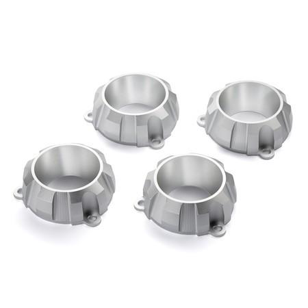 Juego de embellecedores para silencioso VMAX Excellence - Aluminium