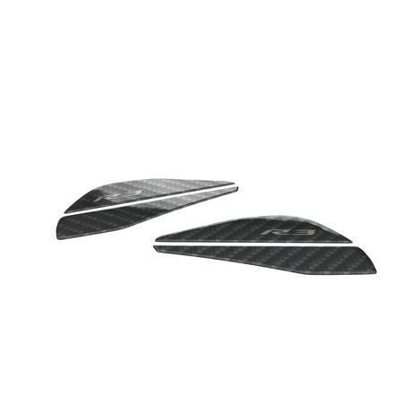 Protectores de depósito laterales Almohadillas de protección para proteger ambos lados del depósito. - Carbon look
