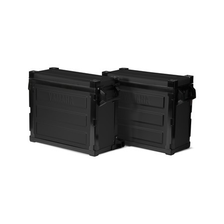 Maletas laterales de aluminio XT660Z Ténéré - Black