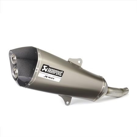 Escape Slip-On de titanio X-MAX 400 - Titanium