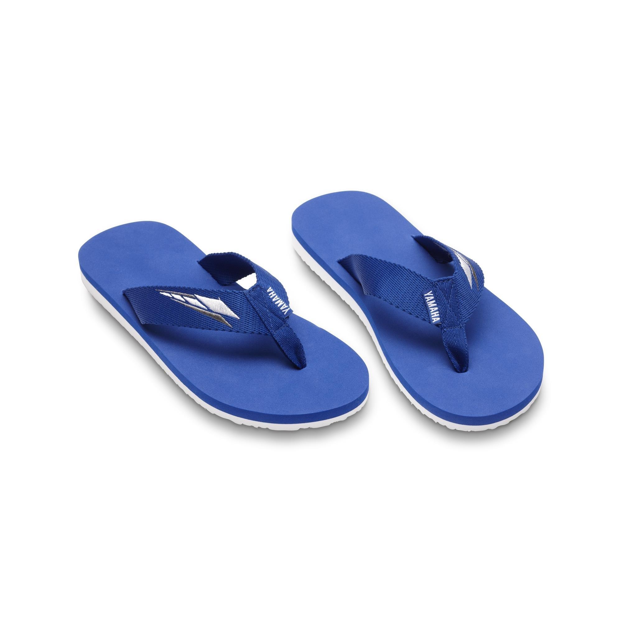 Sandalias Yamaha de color azul