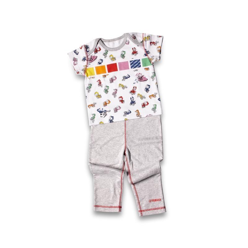 Conjunto de camiseta y pantalón de regalo para bebé (niña)