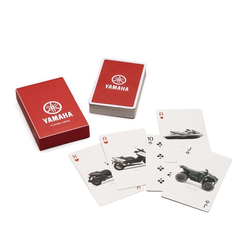 Baraja de cartas Yamaha
