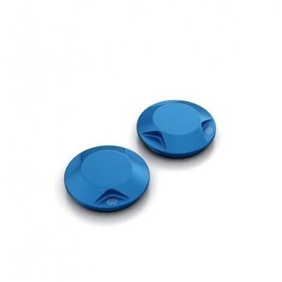 Tapas anodizadas de basculante MT-07 - Blue