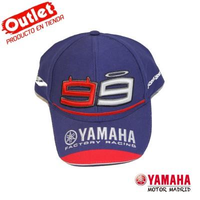Gorra Yamaha GP 2015 Lorenzo