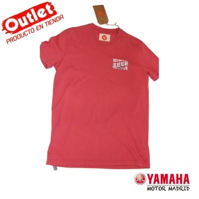 Camiseta Yamaha Roja- Hombre Talla L