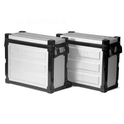Maletas laterales de aluminio XT660Z Ténéré - Aluminium