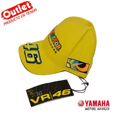 Gorra Oficial Racing Apparel - Yellow N