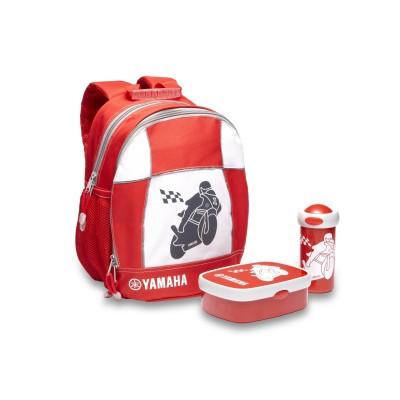 Kit mochila almuerzo Yamaha para niños
