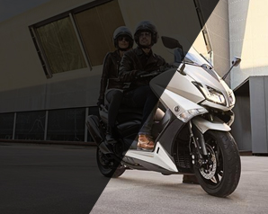 Peças de reposição originais para scooters Yamaha
